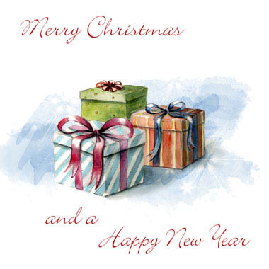 Greeting cards for various card companies